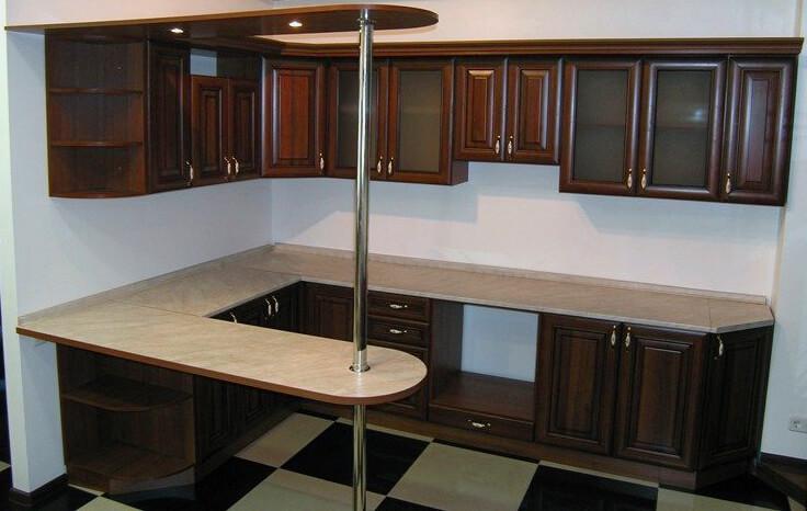 Кухни угловые с барной стойкой - этим уже никого не удивишь