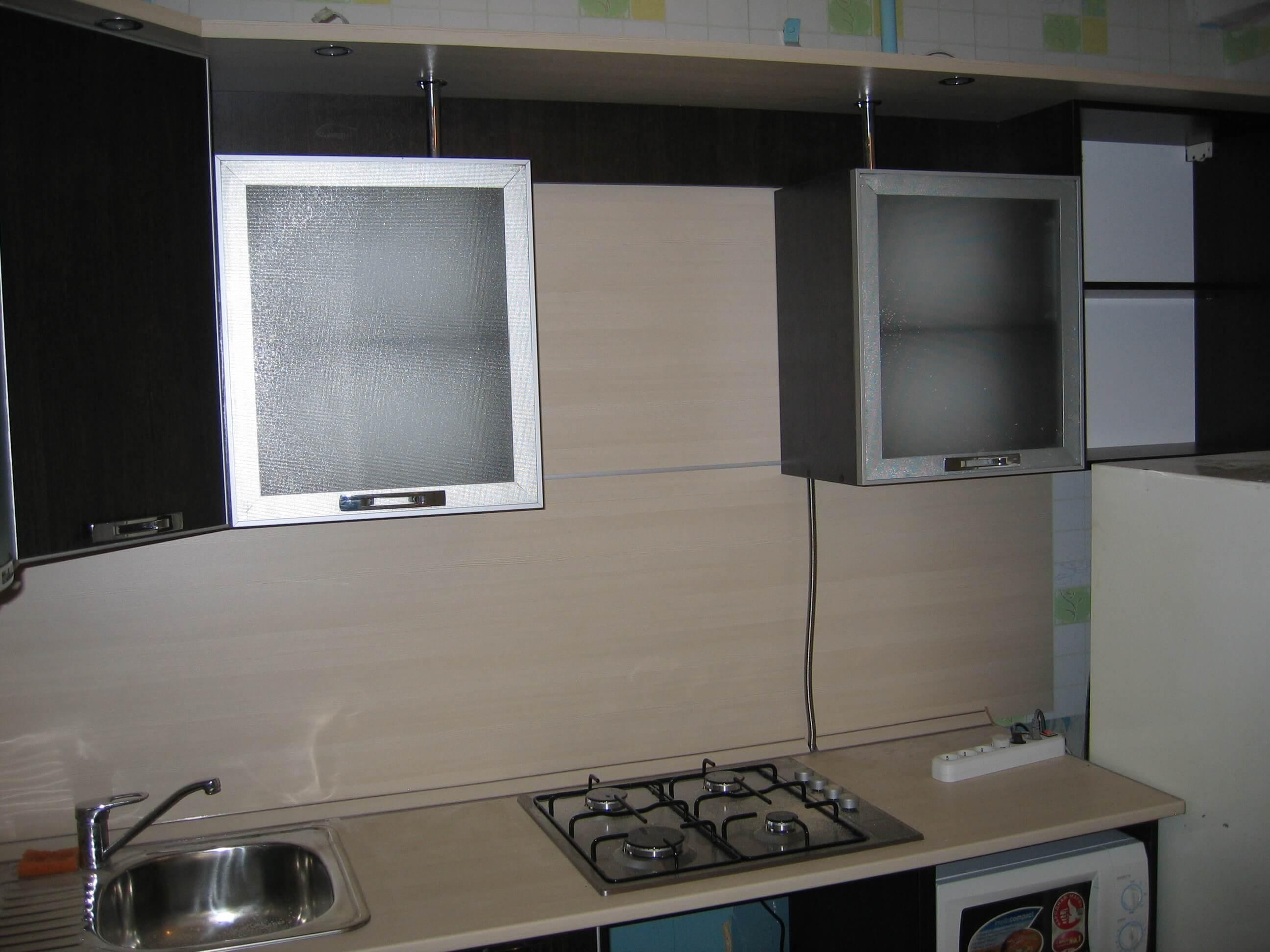 алюминиевые фасады кухни