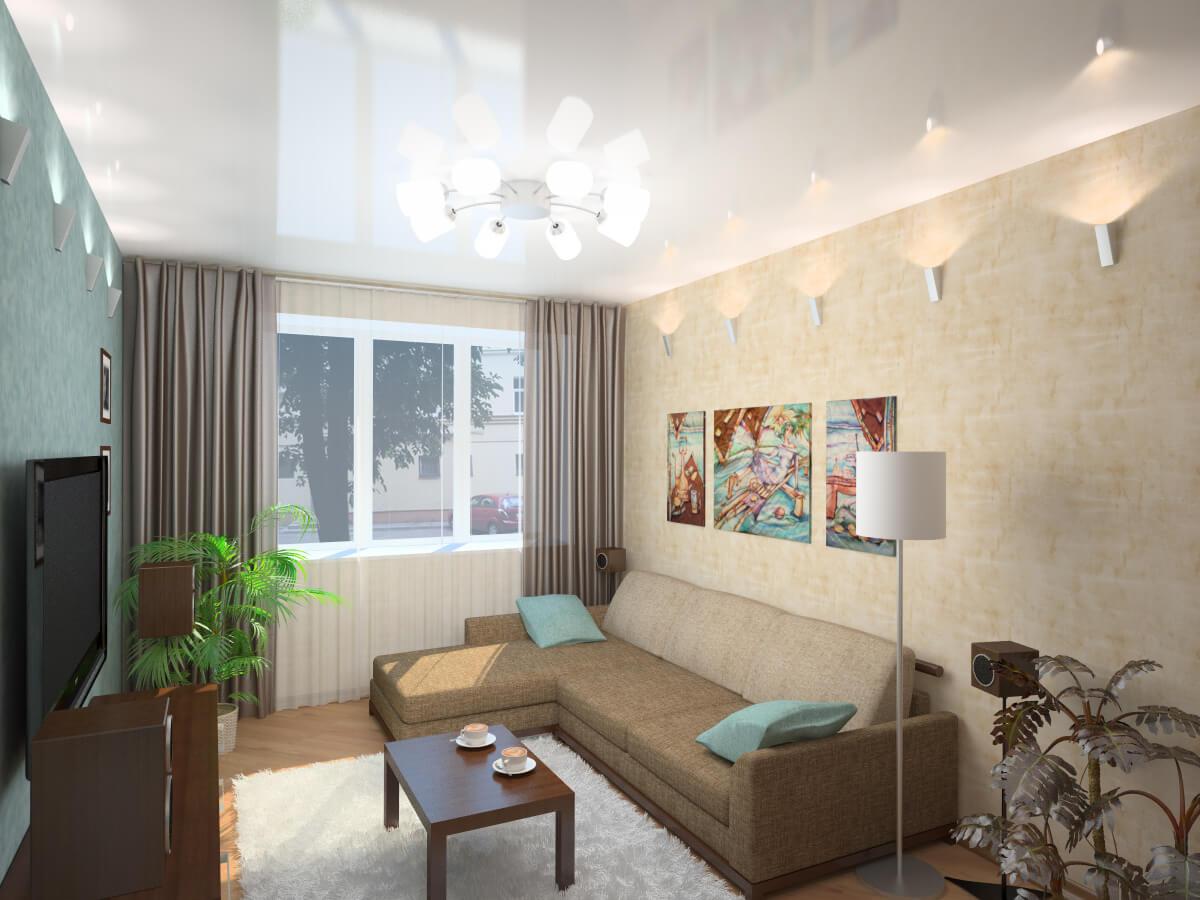 Интерьер небольших гостиных комнат фото