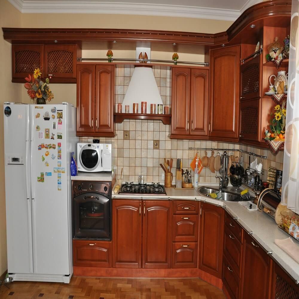 Занавеска на кухонное