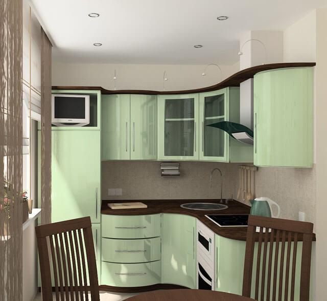 Как выбрать дизайн кухни в хрущевке?