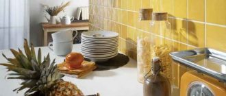 отделка стен кухни