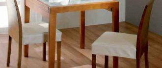 Лучшие стеклянные раскладные столы для кухни