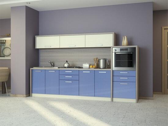 Модульная мебель для кухни - очень практическое решение