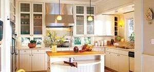 Как выполнить дизайн кухни столовой?