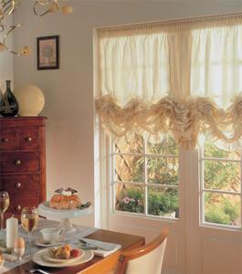 Выбрать красивые шторы для кухни фото