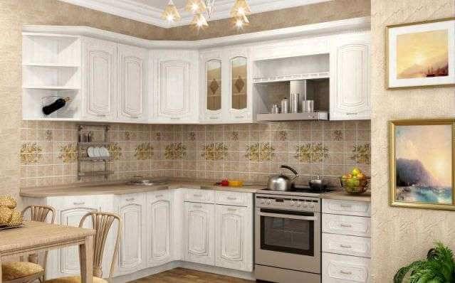 Белая столешница на кухне отзывы
