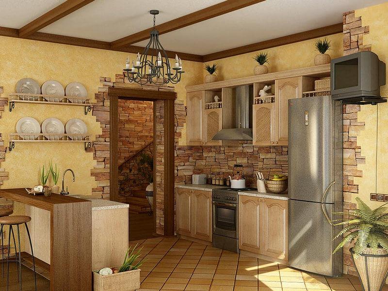 Какие отделочные материалы для стен кухни лучше?