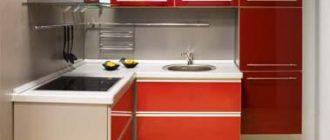 Какая должна быть высота кухонных шкафов?
