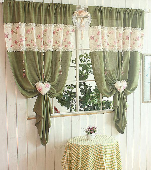 красивые шторы своими руками