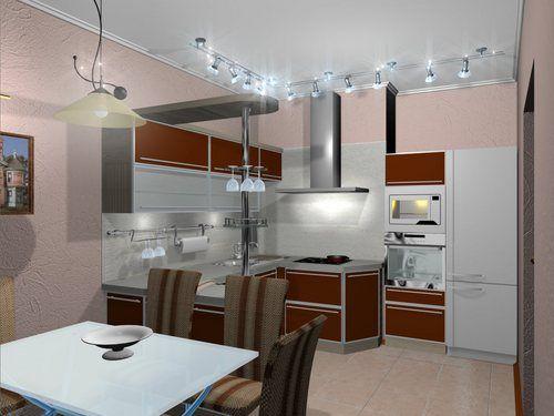 кухонные потолочные светильники