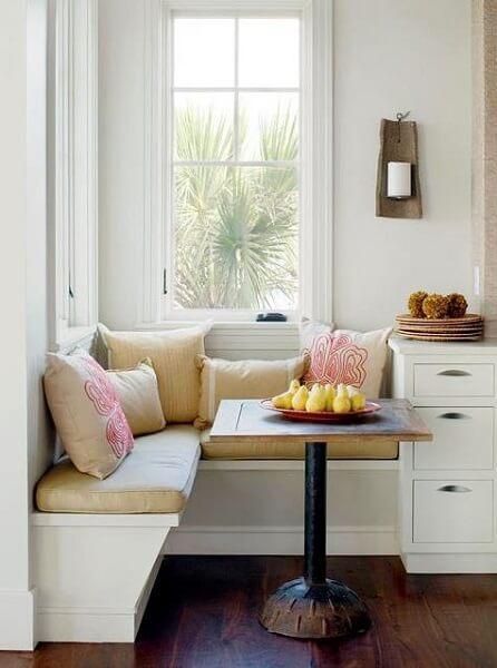 Встроенные диваны на кухню