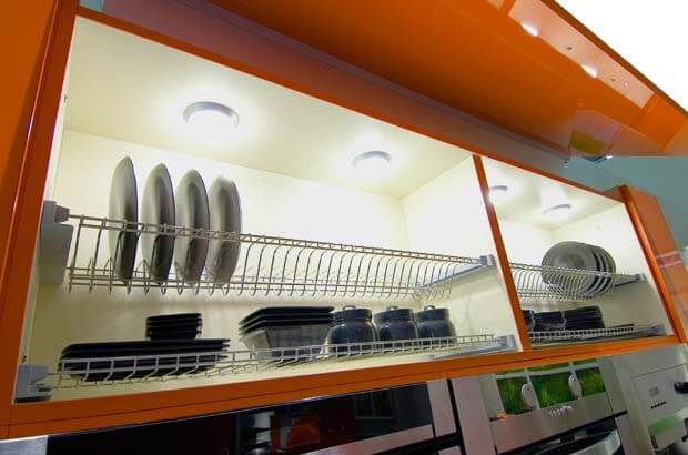 шкаф кухонный с сушилкой