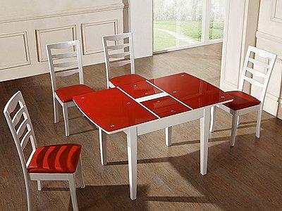 стол обеденный трансформер