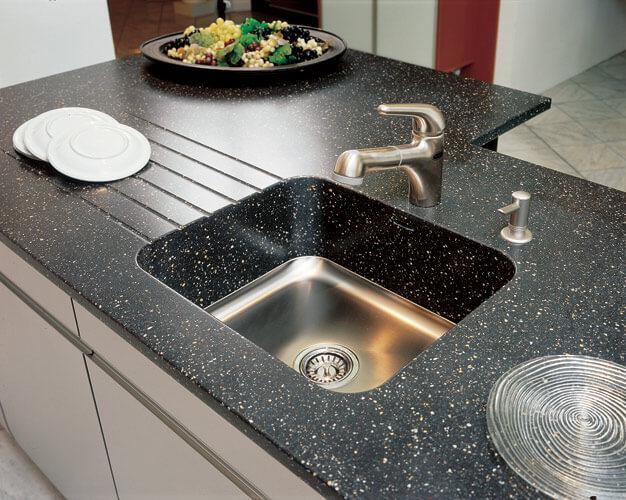 Какая должна быть ширина столешницы на кухне?