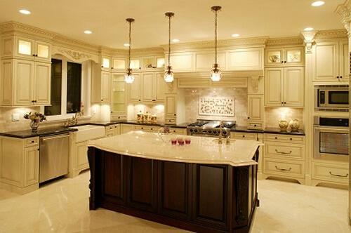 светильники потолочные на кухню