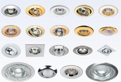 Врезные и навесные точечные светильники