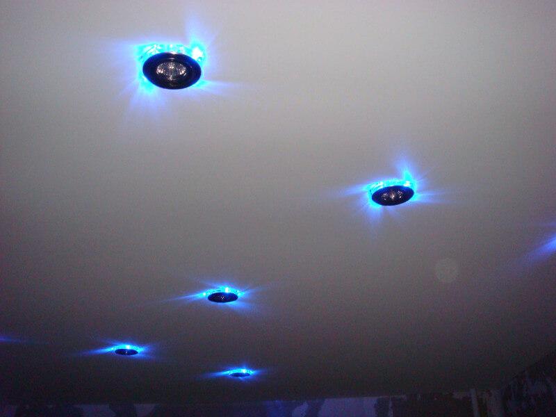 Потолочные точечные светильники