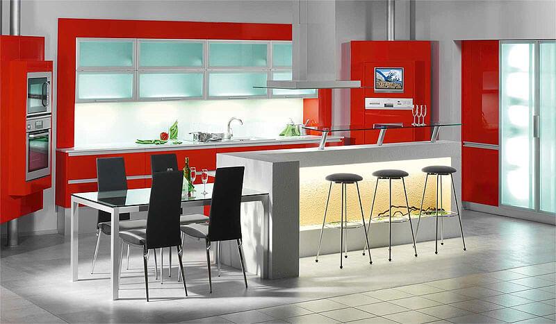 Стационарный свет на кухне