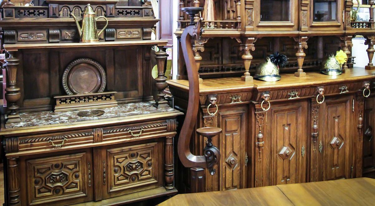 антикварная мебель для кухни