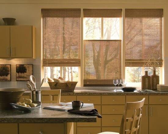 Комплект штор для кухни