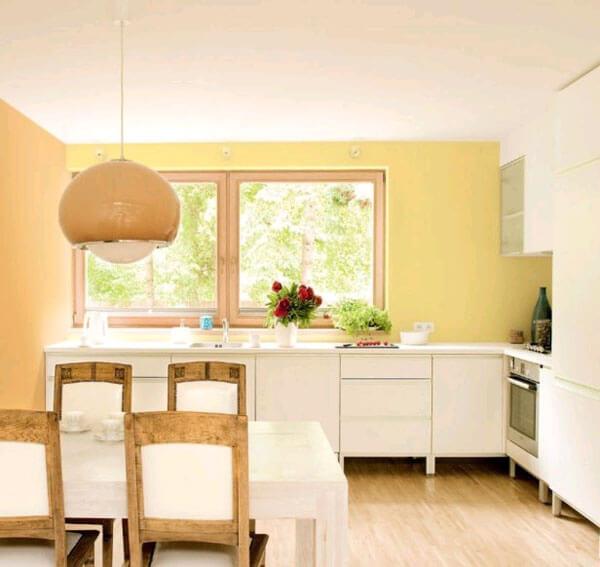 цвет стен на кухне пастель