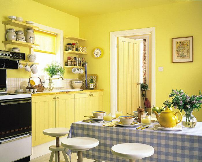 Стены под покраску в интерьере фото кухня