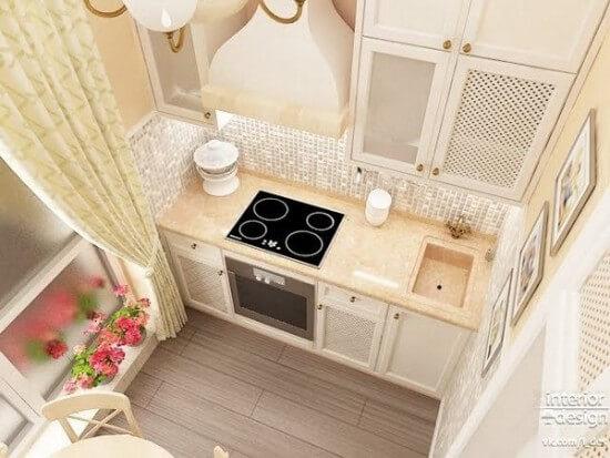 кухня 6 кв.м. планировка