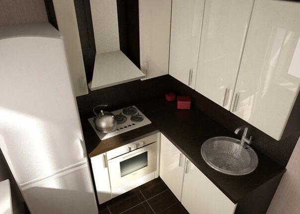 кухня 6 квадратных метров планировка