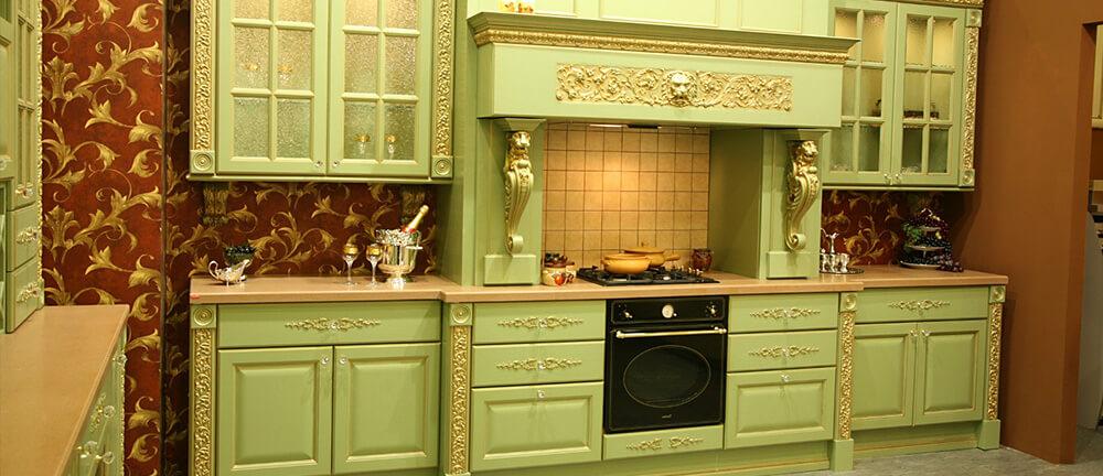 кухни оливкового цвета дизайн фото