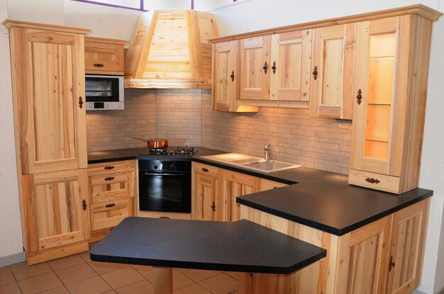 кухонная мебель собрана своими руками