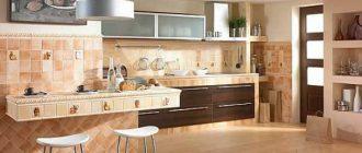 Какой кафель на кухню дизайн?