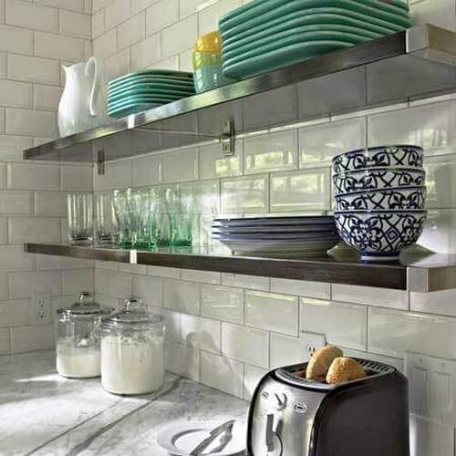 Полки навесные для кухни