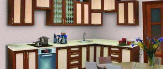 Рамочные фасады для кухни