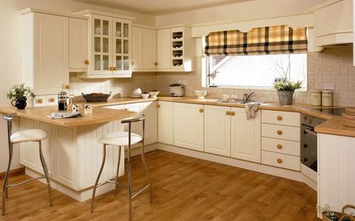 Выбираем современные шторы на кухню