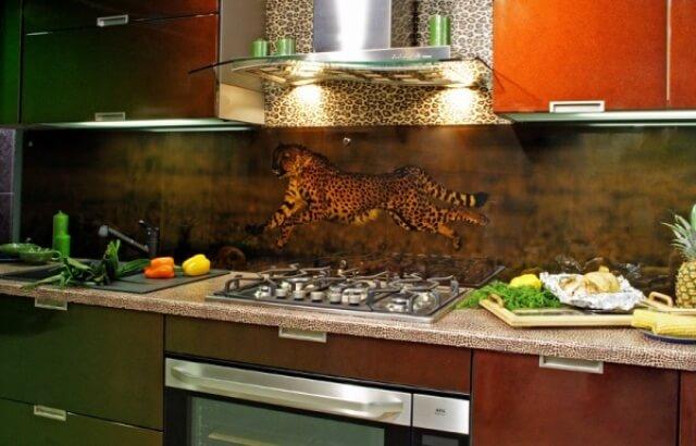 стеновые панели на кухню