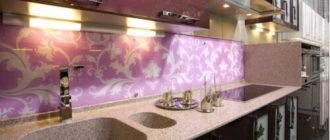 Стеновая панель на кухню