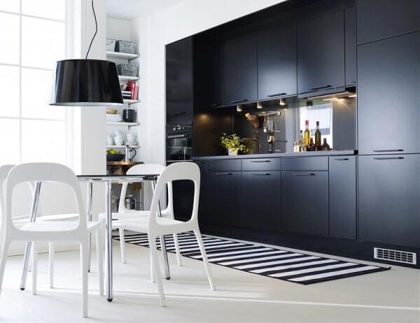 стильные шкафы икеа на кухню