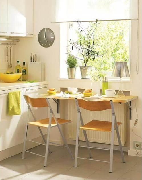 Маленький стол для кухни для маленькой кухни