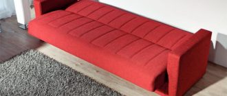 узкий диван на кухню