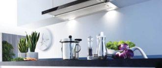 выдвижная телескопическа вытяжка для кухни