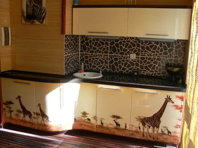 покраска кухонного фурнитура