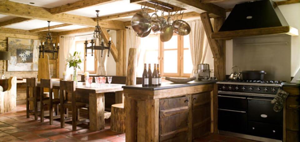 кухня шале
