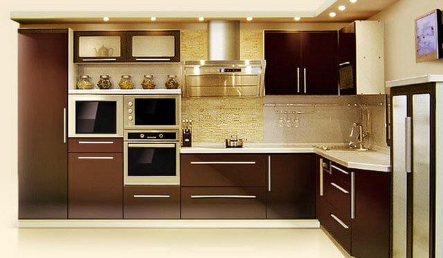 Кухни из пластика фото дизайн