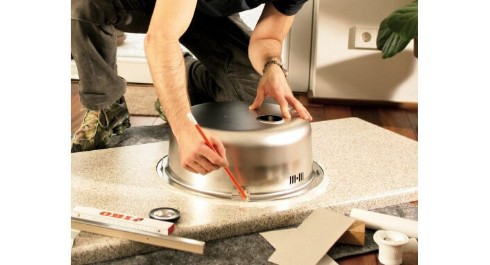 Мойка на кухню своими руками фото