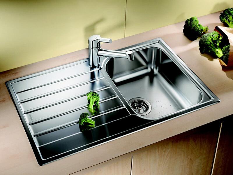 прочистить кухонную раковину
