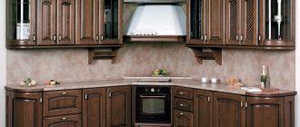 фасады массив для кухни