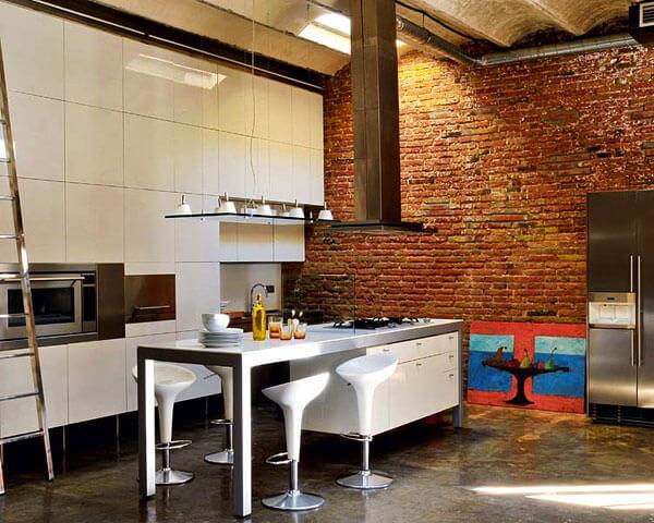 фото кухня в стиле лофт