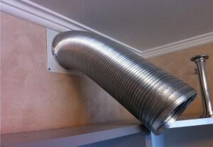 гофрированная труба для вытяжки на кухне