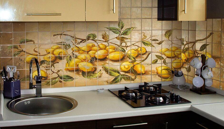 фото плитки для кухни
